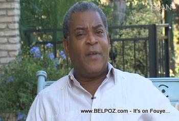 Haiti Prime Minister Jean Max Bellerive