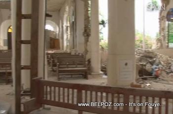 Haiti Collapsed Church