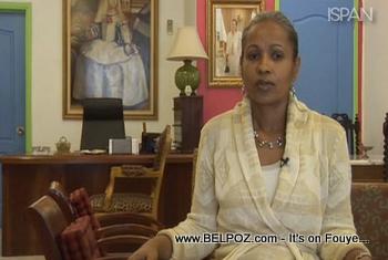 Haiti First Lady Elizabeth Preval