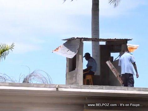 Haitian Prison Guards Les Cayes Haiti