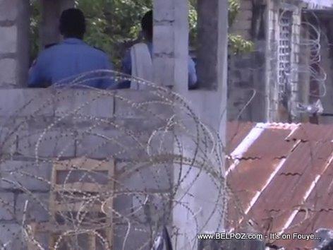 Haiti Prison Guard Les Cayes Prison