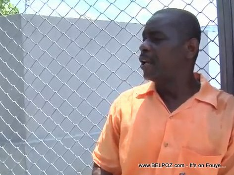 Sylvestre Larack Les Cayes Haiti Prison Warden