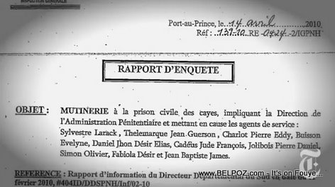 Haiti Police Report