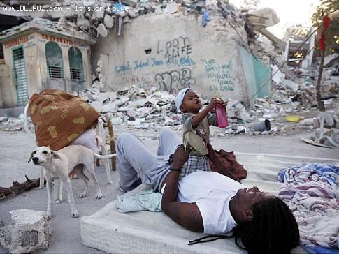 Homeless In Haiti