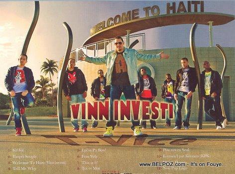 T-Vice Vinn Investi Album Cover