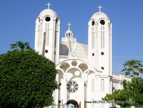 Catholic Church - The New Cathedral In Hinche Haiti