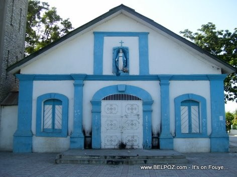 The old Catholic church In Hinche Haiti, this is the oldest cathedral in Island