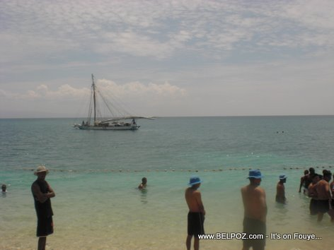 MINUSTAH at the beach in Haiti
