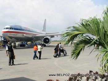 American Airlines In Haiti Airport