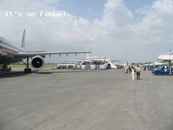 American Airlines, Haiti Airport