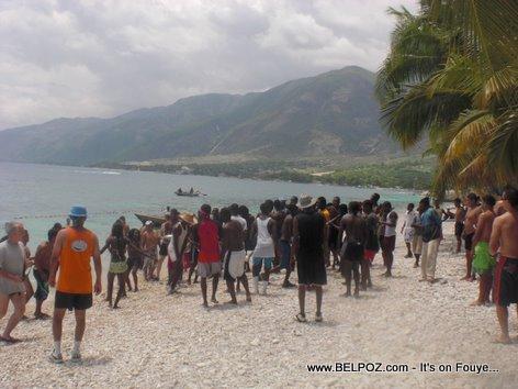MINUSTAH a la plage en Haiti