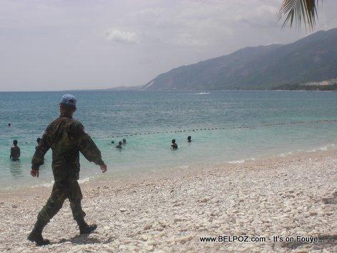 MINUSTAH's New Mission Keep The Beaches Of Haiti Safe