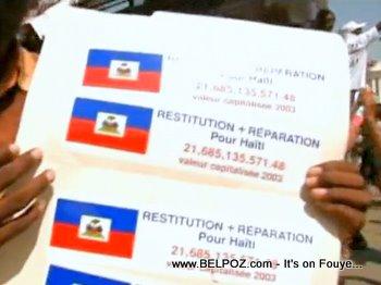 Restitution Reparation Pour Haiti
