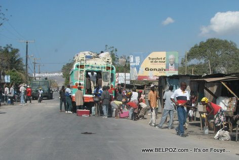 Gonaives Haiti Bus Transportation