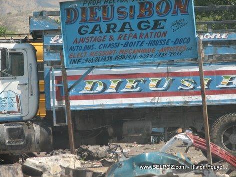 Dieu Si Bon Garage - Gonaives Haiti