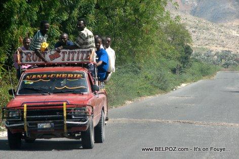 Tap Tap Fruit De Titite Gonaives Haiti
