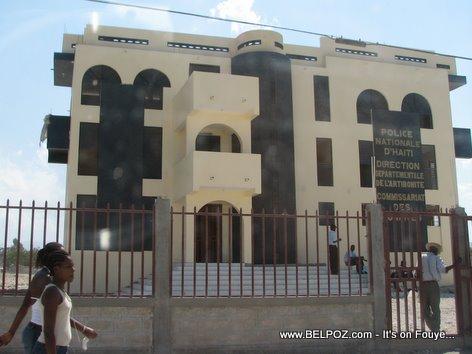Police Nationale Building Gonaives Haiti