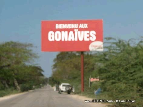 Gonaives Haiti Welcome Sign