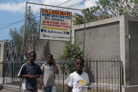College Rene DesCartes Des Gonaives Gatereau 20 Gonaives Haiti
