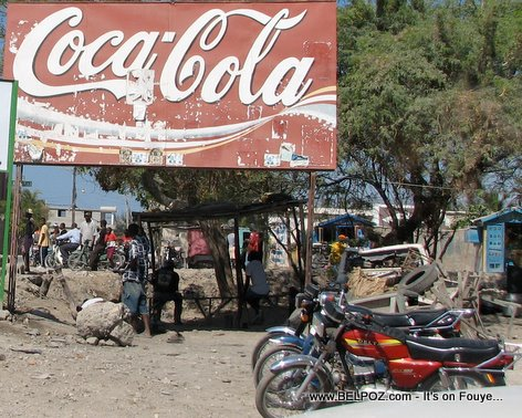 Coca Cola Billboard Gonaives Haiti