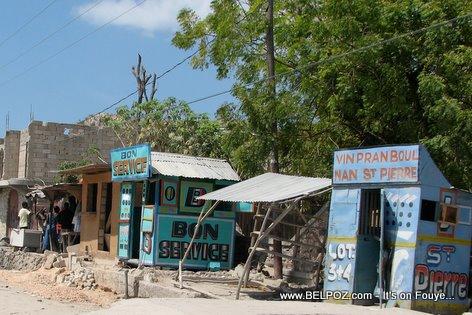Bank Borlette Haiti Lottery Gonaives Haiti