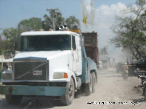 Tow Truck Gonaives Haiti