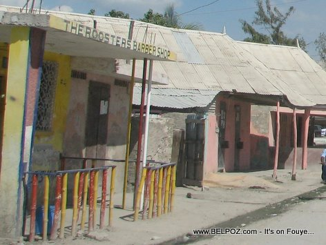 The Roosters Barber Shop Gonaives Haiti