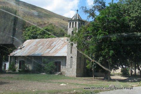 Church Outside Gonaives Haiti