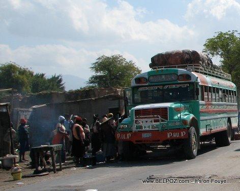 Bus Transportation Gonaives Haiti