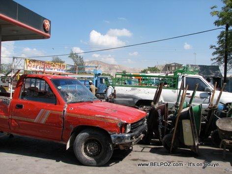Texaco Gas Station Gonaives Haiti