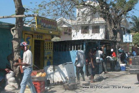Gonaives Haiti La Pobrite Lotto
