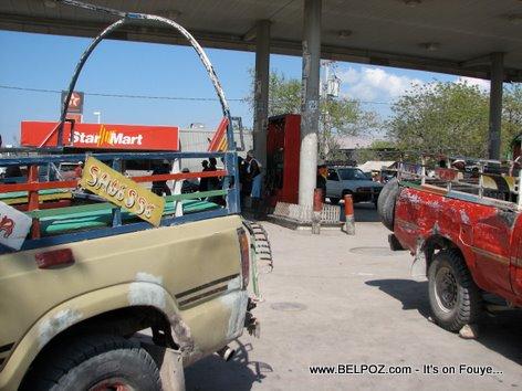Texaco Gas Station Star Mart Gonaives Haiti