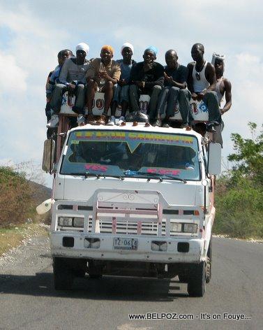 Camion Transport Le Bon Samaritain Gonaives Haiti
