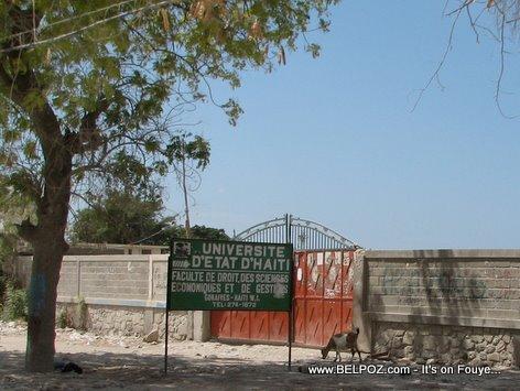 Universite Etat Haiti Faculte De Droit Des Science Economiques Et Des Gestion Gonaives Haiti