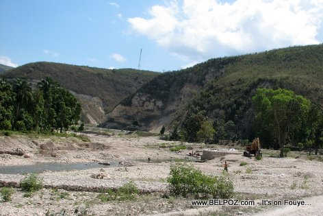 La Quinte River Bank Gonaives Haiti
