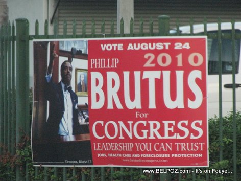 Vote Phillip Brutus For Congress
