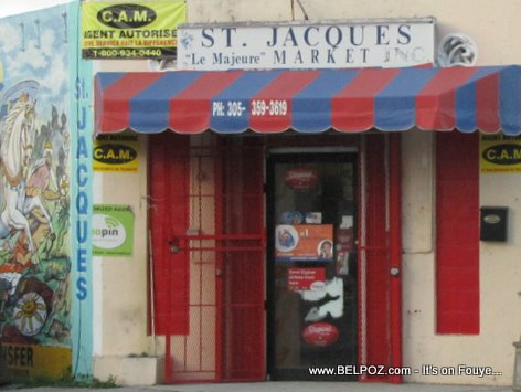 St Jaques Le Majeure Market Little Haiti Miami FL
