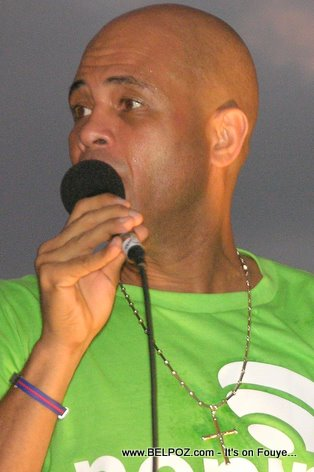 Michel Martelly  aka  Sweet Micky