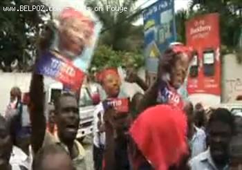 Fanmi Lavalas Manifestation In Haiti