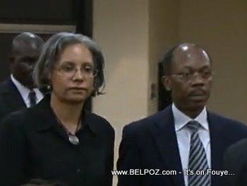 Mr and Mrs Jean Bertrand Aristide