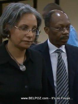 Jean Bertrand Aristide, Mildred Aristide