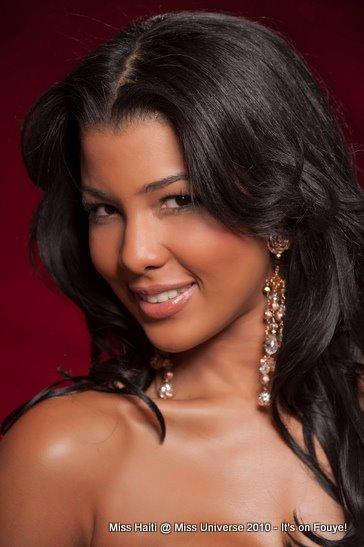 Sarodj Bertin Is Miss Haiti At Miss Universe 2010