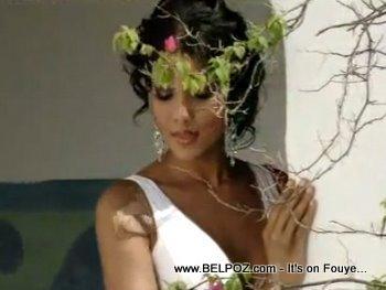 Sarodj Bertin Miss Haiti Universe 2010 Photo Shoot
