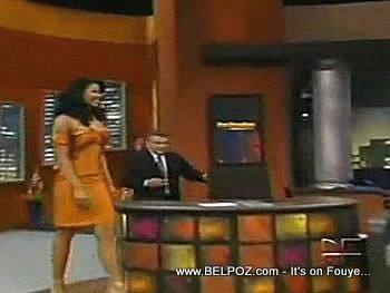 Sarodj Bertin Miss Haiti Universe 2010 On UniVision