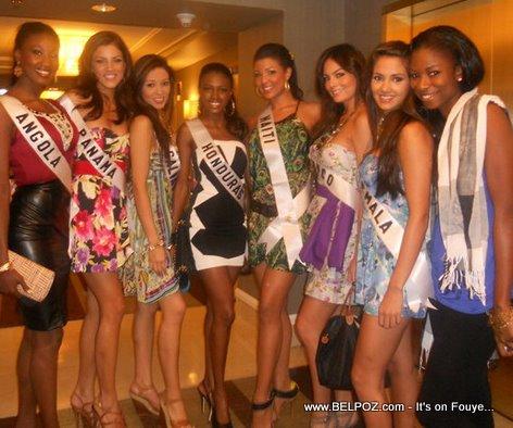 Sarodj Bertin, Miss Haiti Universe 2010