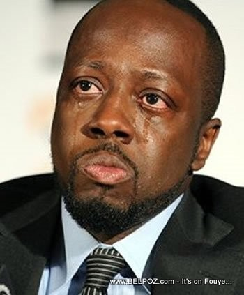 Wyclef Jean Is Crying