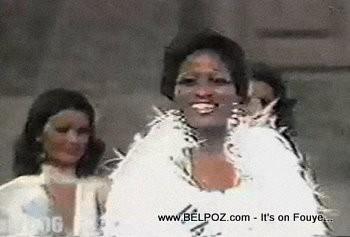 Gerthie David, Miss Haiti 1975, Miss Universe 1st Runner up