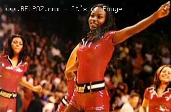 Fabienne Achille, Miami Heat Chearleader