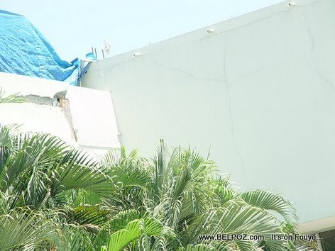 Haiti International Airport Earthquake Damages Haiti Airport