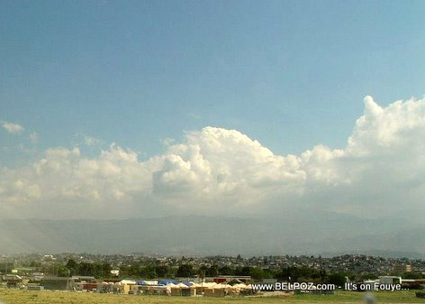 Blue Skys Over Haiti International Airport